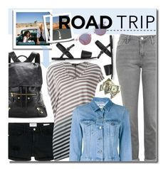 """Summer Road Trip Essentials"" by justkejti ❤ liked on Polyvore featuring Topshop, Balenciaga, Frame Denim, UNCONDITIONAL, Acne Studios, Summer, summerstyle and roadtrip"