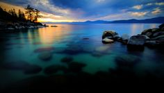 I want this picture to hang in my yoga room. Beautiful - Tahoe's East Shore