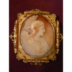 And Cameo Brooch Pomponio, Ancient Roman Sold[...]