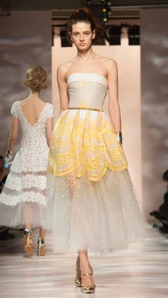 Georges Chakra Haute Couture Spring/Summer 2015 via @stylelist | http://aol.it/1Am816S