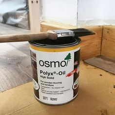 It was difficult to think of a photo for today but then remembered that we used @osmo_uk on the skirting boards in the annexe. I spent so long shuffling round on my bum painting this on but it finishes the skirting off so nicely that it was worth it in the end!
