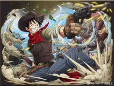 Monkey D. Luffy by bodskih on DeviantArt One Piece Series, One Piece 1, One Piece Luffy, One Piece Comic, One Piece Anime, Anime One, Anime Stuff, Corpse Party, Monkey D Luffy