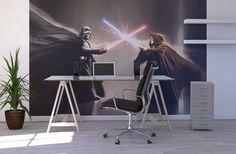 Star Wars - Darth Vader and Obi-Wan Kenobi - Fototapeter & Tapeter - Photowall