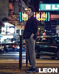 Actor Ji Sung recently posed for fashion magazine 'Leon' from the streets of Hong Kong!Visiting places like Mong Kok and Harbour City, Ji Sung looked … Korean Star, Korean Men, Asian Men, Korean Actors, Korea University, In The Air Tonight, The Special One, Hallyu Star, So Ji Sub