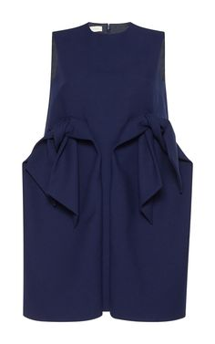 Short Dress with Bows by DELPOZO Now Available on Moda Operandi