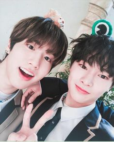 Jisung and Jeongin Stray Kids