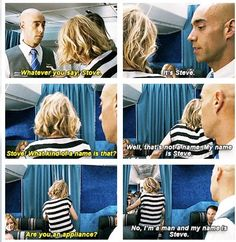 """Are you an appliance?!"" #Bridesmaids #Stove"