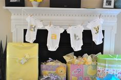 Cute Decor for #babyshower