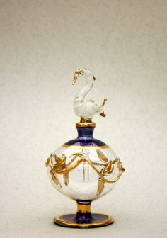 Hand crafted Egyptian Perfume Bottle.