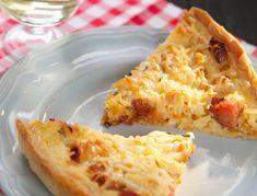 Quiche s medovou cibulí a šunkou Lasagna, Quiche, Ethnic Recipes, Food, Essen, Quiches, Meals, Yemek, Lasagne