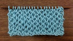 How to Knit the Honeycomb-Brioche-Stitch