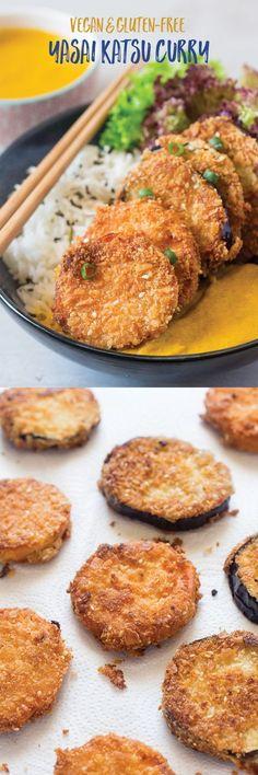 Vegan katsu curry