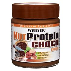 Delicious hazelnut and cocoa spread with high quality whey protein, ideal for all kinds of diets. Staying fit and slim has never been so easy and so tasty! My Protein, Low Sugar, Tostadas, Stay Fit, Gluten Free Recipes, Nutella, Free Food, Tasty, Cream