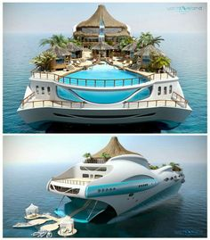 Private Island Yacht