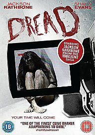 Clive Barker's Dread (DVD, for sale online Horror Movie Posters, Horror Movies, Star Jackson, Deep Dark Fears, Jackson Rathbone, Lions Gate, Home Entertainment, Twilight Saga, Dreads
