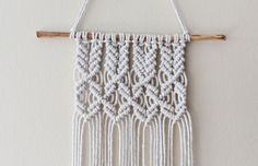 tutorial macrame wallhenging - Buscar con Google