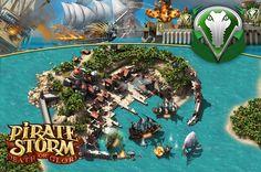 Itt egy remek #strategiai #jatek a Pirate Storm! Ha egy igazi, régimódi időket idéző kalózos játékra vágysz, akkor itt a helyed: http://www.piratestorm.hu/ !
