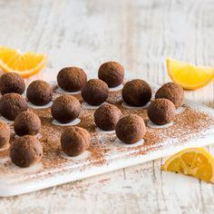 Trufas de Chocolate y Naranja | Recetas de Nestlé | ElMejorNido.com
