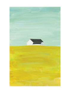 rural midwest by robin ott design for Minted. I love and collect barn paintings - this one is cool.