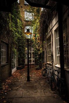 London Alleyway at Playhouse Court  by SaltedPrint on Etsy