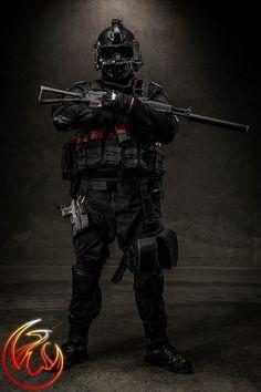 umbrella corporation soldier costume - Google zoeken