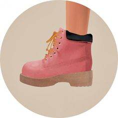 SIMS4 Marigold: Hiking Boots for her • Sims 4 Downloads