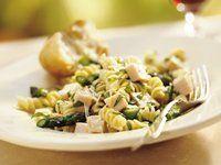 Lemon Basil Chicken Pasta Salad