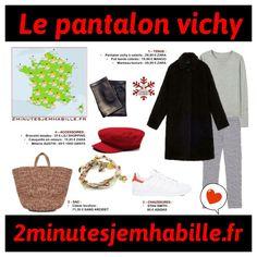 Une tendance Baby Doll revisitée avec le pantalon Vichy. Ma recette sur 2minutesjemhabille.fr #vichy #pantalon #babydoll #fashionista #fashion #lookdujour #2minutesjemhabille #meteo #weather #style