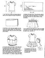T-shirt dress: donation (same idea as pillowcase dresses)
