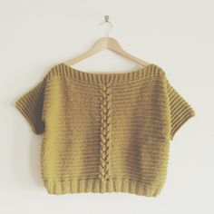 Marcelle & Clo - Betty Yellow sweater
