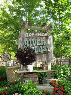 Silver Dollar City in Branson, Missouri. You all can have your Disney, this will always be my favorite vacation theme park. Some of the best memories were made here!