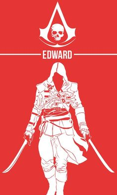 Assassin's Creed Edward The Pirate Of The Caribbean by Creator Roshan Halai Assasin Creed Unity, Assassins Creed Quotes, Arte Assassins Creed, Assassins Creed Black Flag, Assassins Creed Origins, Assasins Cred, Assassin's Creed Hidden Blade, Assassin's Creed Wallpaper, All Assassin's Creed
