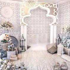 Эклектика в свадебном декоре