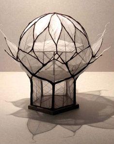 Une cité végétale selon François Schuiten (Biomimétisme), inspiré par la forme d'un artichaut.