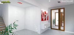 Czerwony nowoczesny pokój dzienny - galeria zdjęć aranżacji i projektów - inspireMe.pl