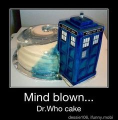 Dr Who cake!!!!!!! I want one!