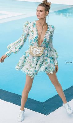 [Ad Campaign] Birgit Kos For Americana Manhasset S/S '18 Zimmerman.