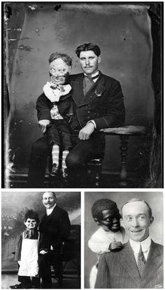 Vaudeville Ventriloquist Dummy Portraits