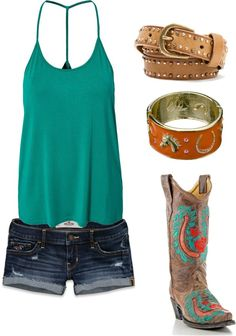 """Summer"" by hotcowboyfan on Polyvore"