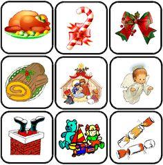 image flashcards Noël