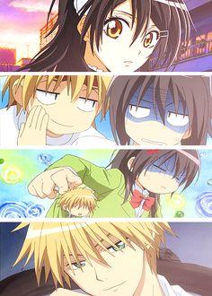 Kaichou wa Maid-sama // Ayuzawa Misaki & Usui Takumi, one of my favorite anime pairs.