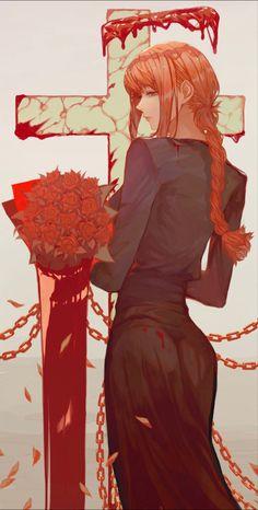 Anime Art Girl, Manga Art, Female Characters, Anime Characters, Character Concept, Character Art, Man Wallpaper, Chica Anime Manga, Chainsaw