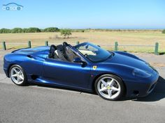 2001 Ferrari 360 Spider F1 Seq. Manual Auto-Single Clutch