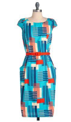 Eva Franco Palm Springs to Life Dress | Mod Retro Vintage Dresses | ModCloth.com