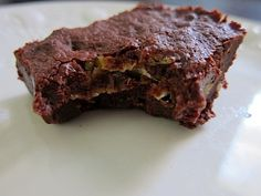 Alice Medrich brownies w/ spicy Cajun potato chips