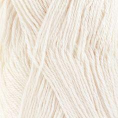 DROPS Baby Alpaca Silk - 1101 biela