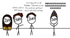 Click to read full comic! #mbti #intp #isfp #enfp #infp