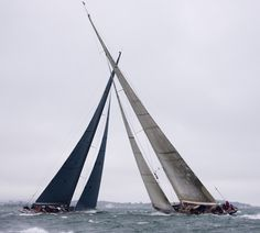 Solent regatta - J Class yachts