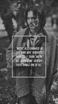 My Lockscreens - Johnny Depp
