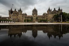 https://flic.kr/p/yfyhjE | Chhatrapati Shivaji Terminus | Chhatrapati Shivaji Terminus is a UNESCO World Heritage Site and an historic railway station in Mumbai Maharashtra, India which serves as the headquarters of the Central Railways.